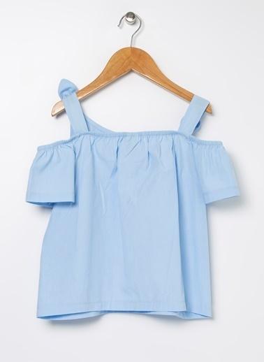Buse Terim Bluz Mavi